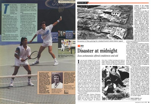 Article Preview: Disaster at midnight, July 1990 | Maclean's