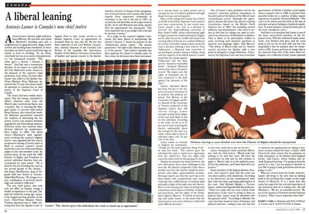 Article Preview: A liberal leaning, July 1990 | Maclean's