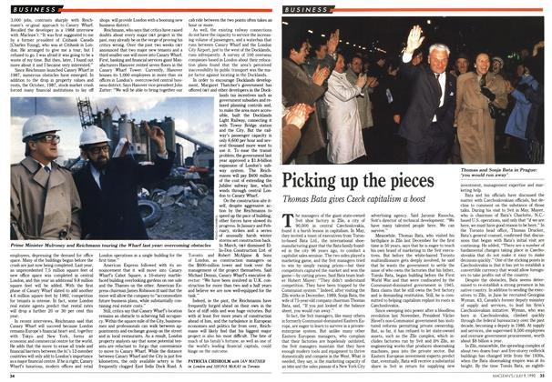 Article Preview: Picking up the pieces, July 1990 | Maclean's