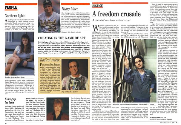 Article Preview: A freedom crusade, July 1990 | Maclean's