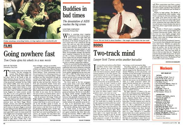 Article Preview: Two-track mind, July 1990 | Maclean's