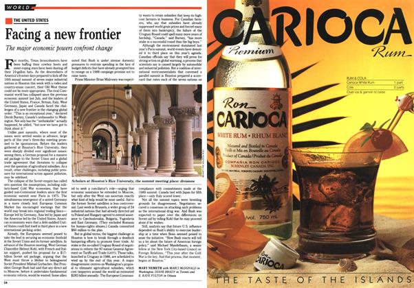 Article Preview: Facing a new frontier, July 1990 | Maclean's