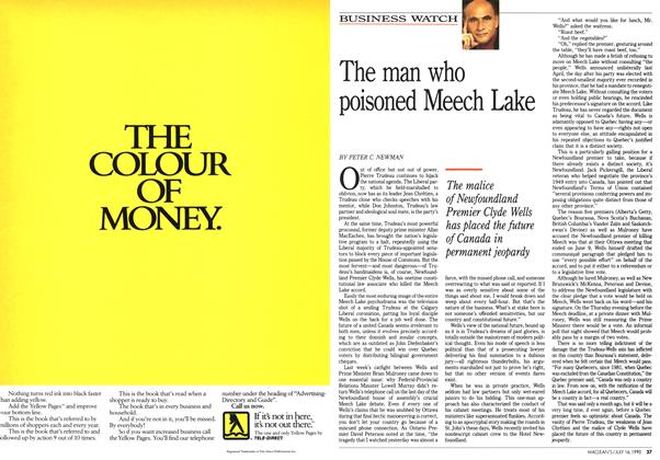 Article Preview: The man who poisoned Meech Lake, July 1990 | Maclean's