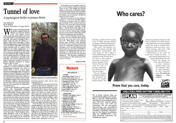 Article Preview: Tunnel of love, July 1990 | Maclean's