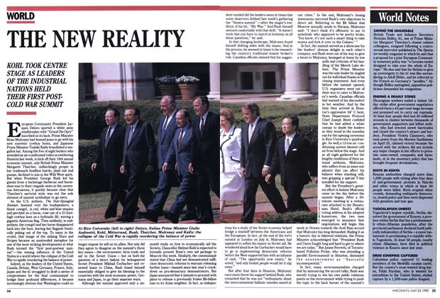 Article Preview: THE NEW REALITY, July 1990 | Maclean's