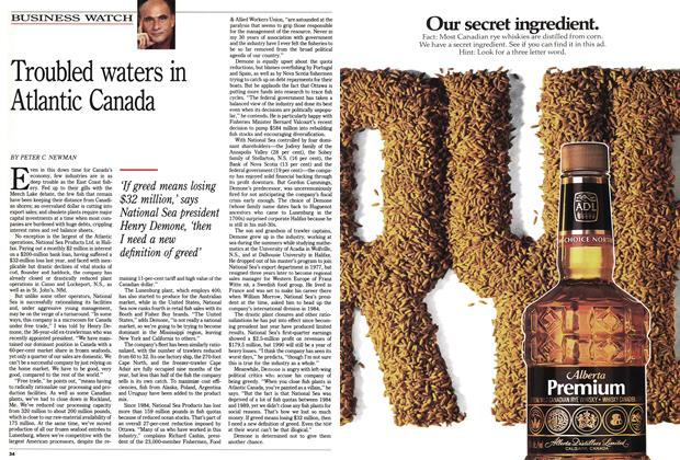 Article Preview: Troubled waters in Atlantic Canada, July 1990 | Maclean's