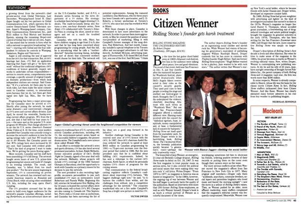 Article Preview: Citizen Wenner, July 1990 | Maclean's