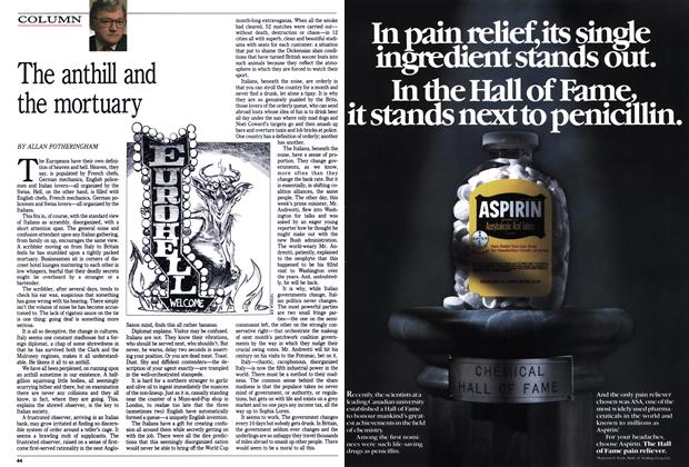 Article Preview: The anthill and the mortuary, July 1990 | Maclean's