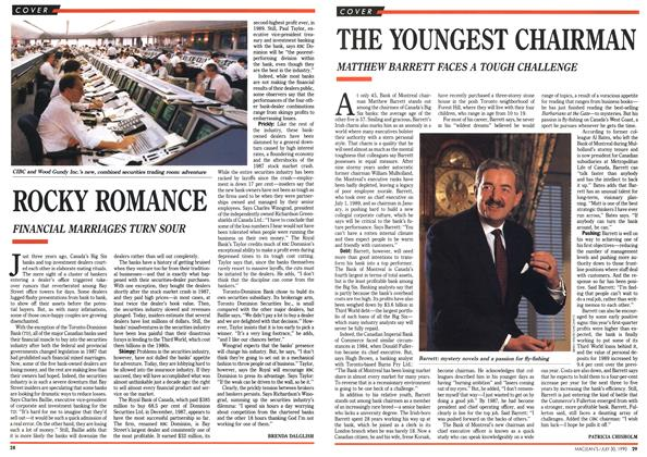 Article Preview: THE YOUNGEST CHAIRMAN, July 1990 | Maclean's