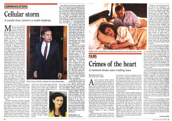 Article Preview: Crimes of the heart, July 1990 | Maclean's