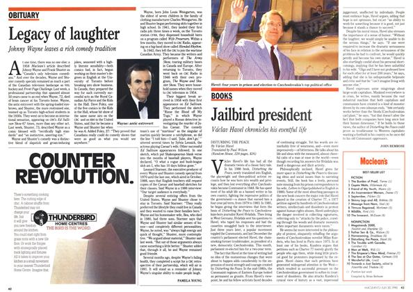 Article Preview: Jailbird president, July 1990 | Maclean's