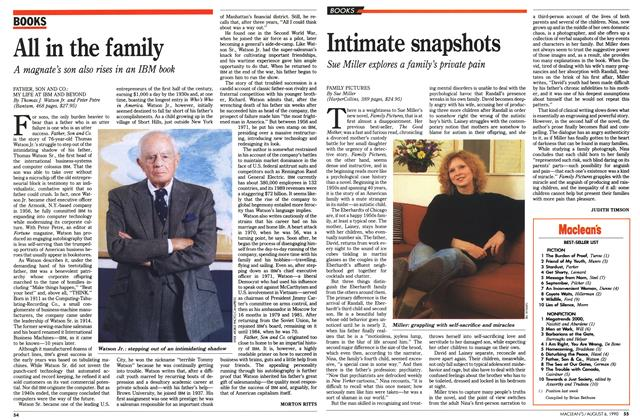 Article Preview: All in the family, August 1990 | Maclean's