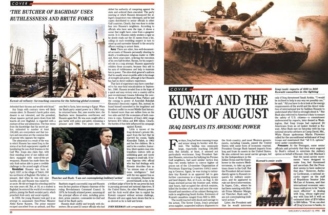 Article Preview: KUWAIT AND THE GUNS OF AUGUST, August 1990 | Maclean's