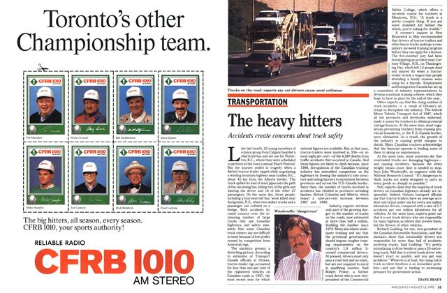 Article Preview: The heavy hitters, August 1990 | Maclean's