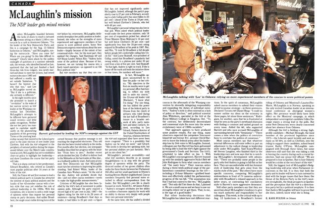 Article Preview: McLaughlin's mission, August 1990 | Maclean's