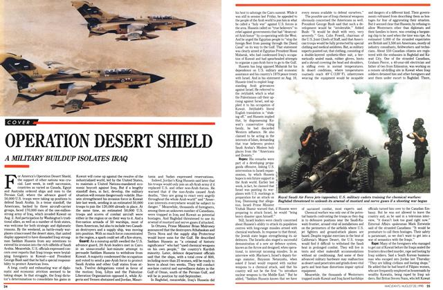 Article Preview: OPERATION DESERT SHIELD, August 1990   Maclean's