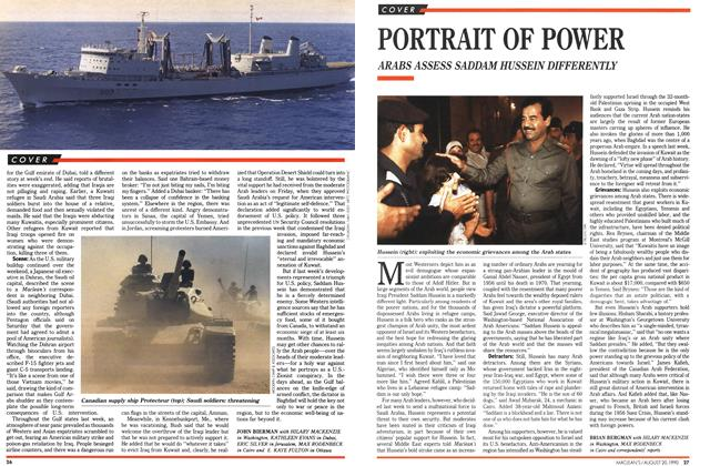 Article Preview: PORTRAIT OF POWER, August 1990 | Maclean's