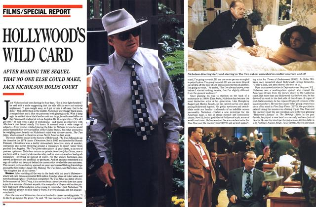 Article Preview: HOLLYWOODS WILD CARD, August 1990 | Maclean's