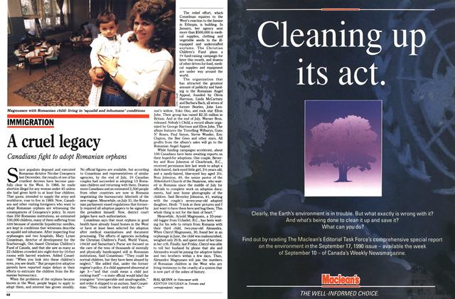 Article Preview: A cruel legacy, August 1990 | Maclean's