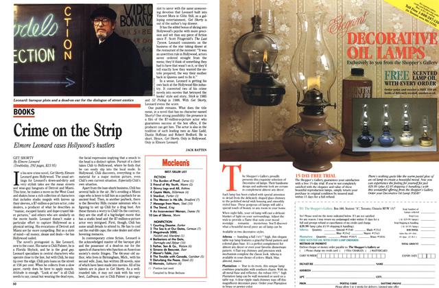 Article Preview: Crime on the Strip, August 1990 | Maclean's