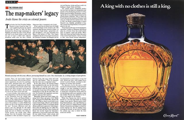 Article Preview: The map-makers' legacy, August 1990 | Maclean's