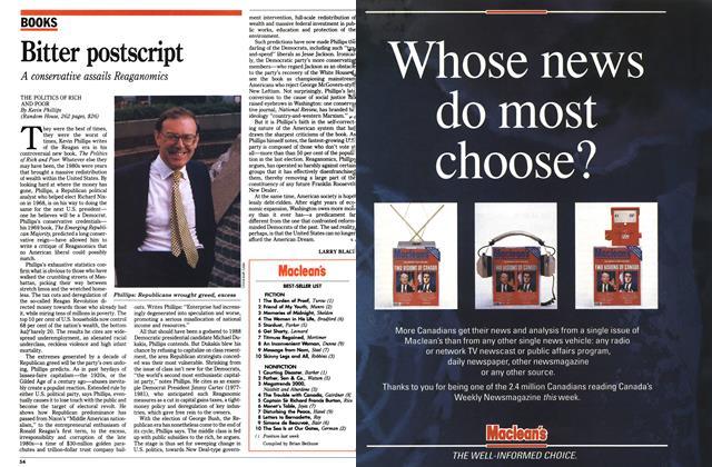 Article Preview: Maclean's BEST-SELLER LIST, August 1990 | Maclean's