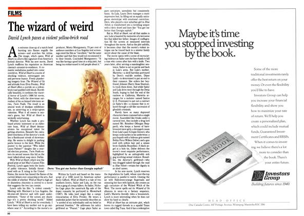 Article Preview: The wizard of weird, September 1990   Maclean's