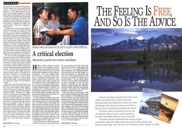 Article Preview: A critical election, September 1990 | Maclean's