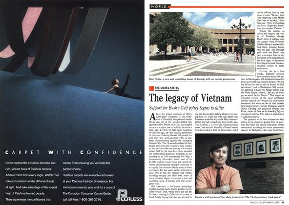 Article Preview: The legacy of Vietnam, September 1990 | Maclean's