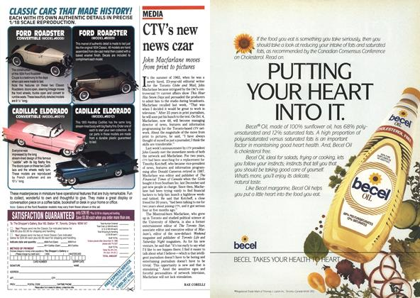 Article Preview: CTV's new news czar, September 1990 | Maclean's