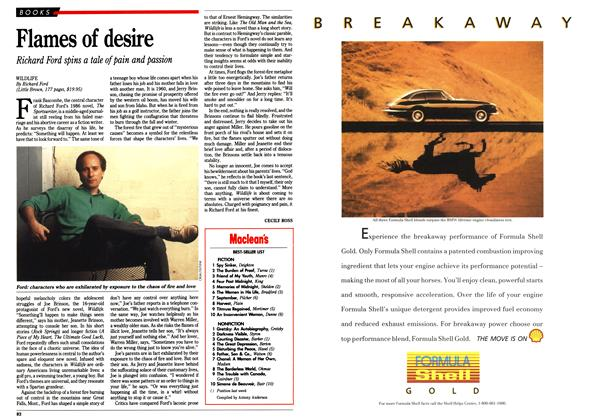 Article Preview: Flames of desire, September 1990 | Maclean's