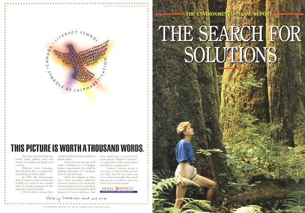 Article Preview: THE SEARCH FOR SOLUTIONS, September 1990 | Maclean's