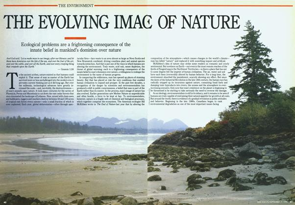 Article Preview: THE EVOLVING IMAGE OF NATURE, September 1990 | Maclean's