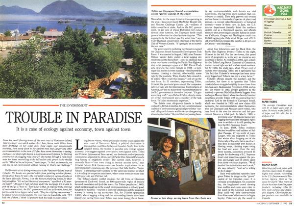 Article Preview: TROUBLE IN PARADISE, September 1990 | Maclean's