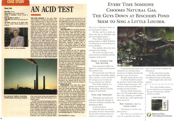 Article Preview: AN ACID TEST, September 1990 | Maclean's