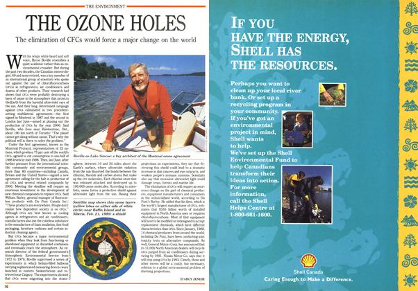 Article Preview: THE OZONE HOLES, September 1990 | Maclean's