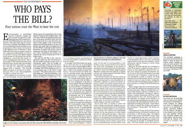 Article Preview: WHO PAYS THE BILL?, September 1990 | Maclean's