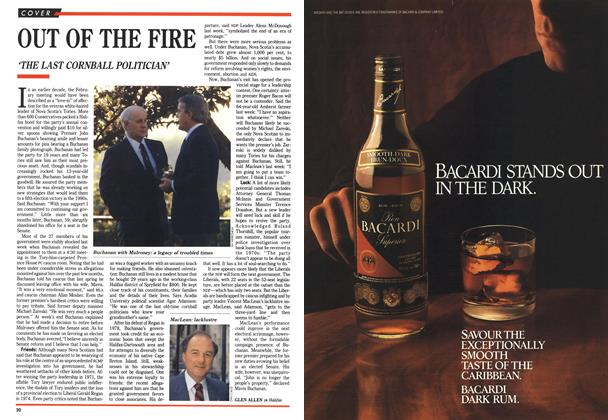 Article Preview: OUT OF THE FIRE, September 1990 | Maclean's