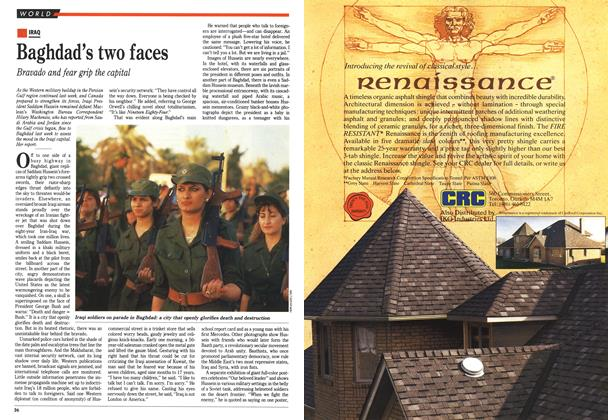 Article Preview: Baghdad's two faces, September 1990 | Maclean's