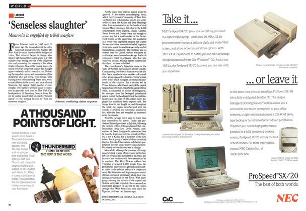 Article Preview: 'Senseless slaughter', September 1990 | Maclean's