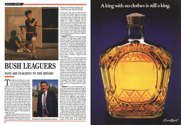 Article Preview: BUSH LEAGUERS, September 1990 | Maclean's