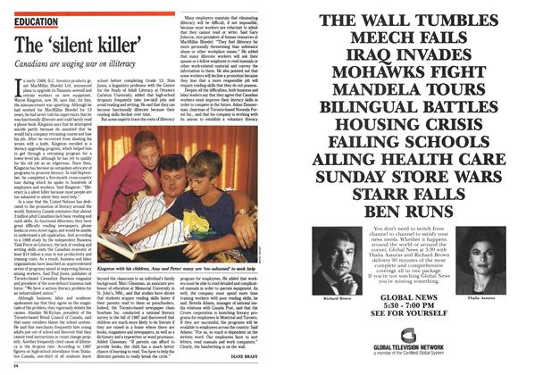Article Preview: The 'silent killer', September 1990 | Maclean's