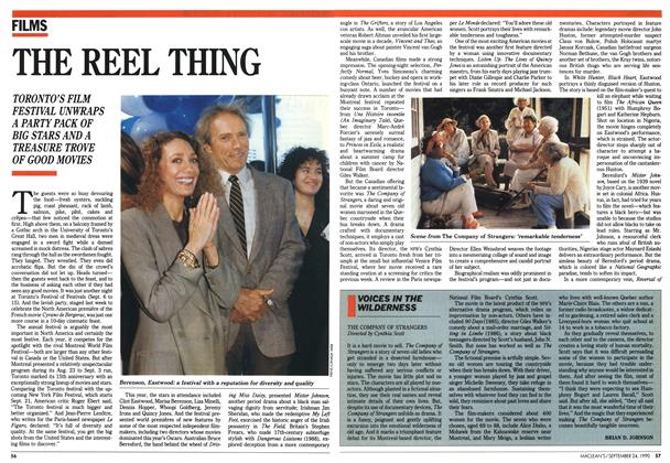 Article Preview: THE REEL THING, September 1990 | Maclean's