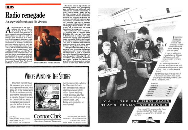 Article Preview: Radio renegade, September 1990 | Maclean's