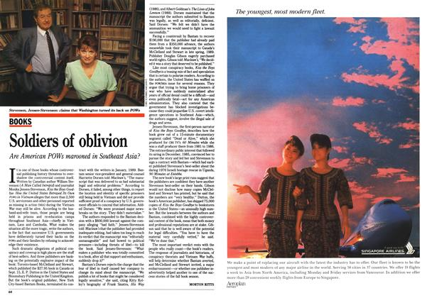 Article Preview: Soldiers of oblivion, September 1990 | Maclean's