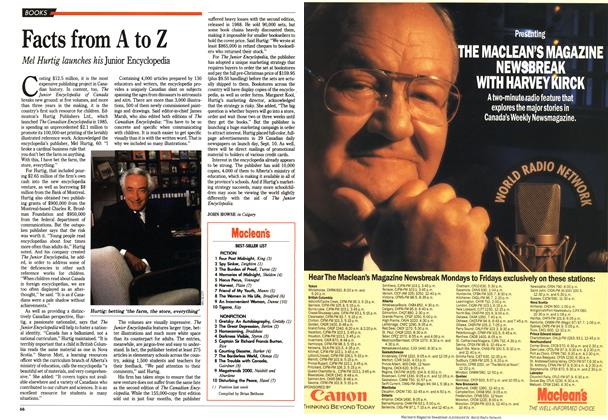Article Preview: Facts from A to Z, September 1990 | Maclean's