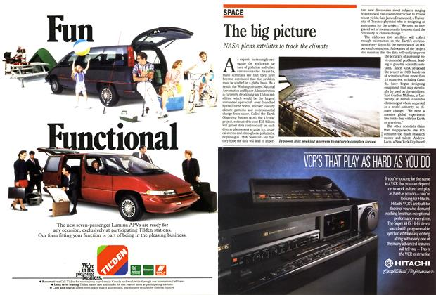 Article Preview: The big picture, October 1990 | Maclean's