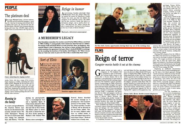 Article Preview: Reign of terror, October 1990 | Maclean's