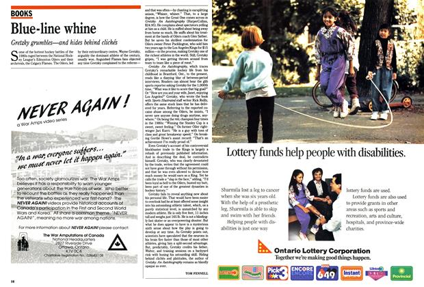 Article Preview: Blue-line whine, October 1990 | Maclean's