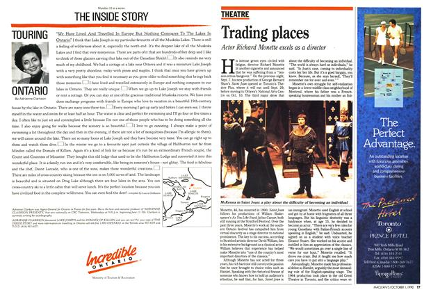 Article Preview: Trading places, October 1990 | Maclean's